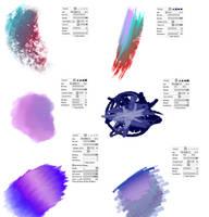 #08 Paint Tool Sai Brushes