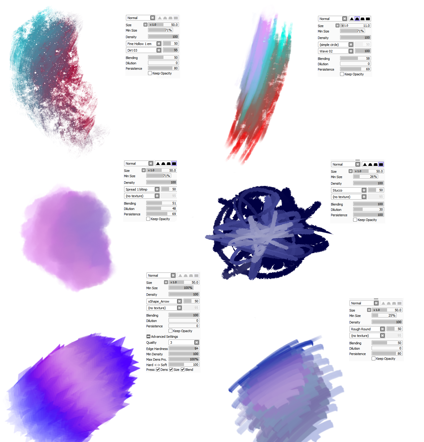 Paint Tool Sai Best Brushes For Backgrounds