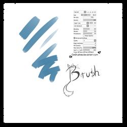 #2 Paint Tool Sai Brush by CatBrushes