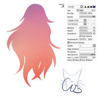#15 Paint Tool Sai Brush -  Watercolor by CatBrushes