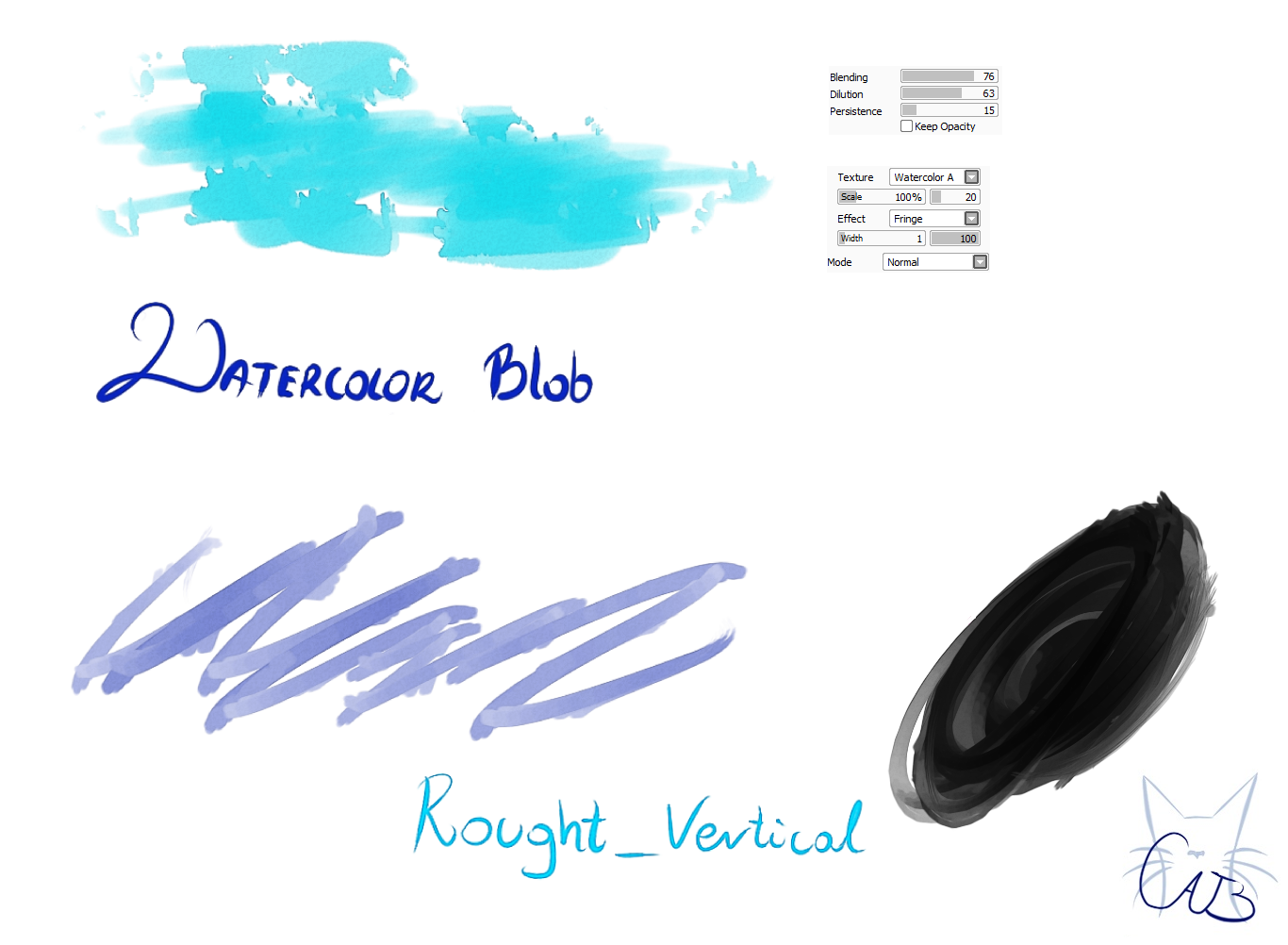 How To Smudge On Paint Tool Sai