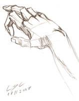 Training - Hand 1 by LucasCoppio