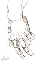 Training - Hand 3 by LucasCoppio