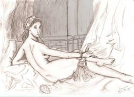 Mulher deitada by LucasCoppio