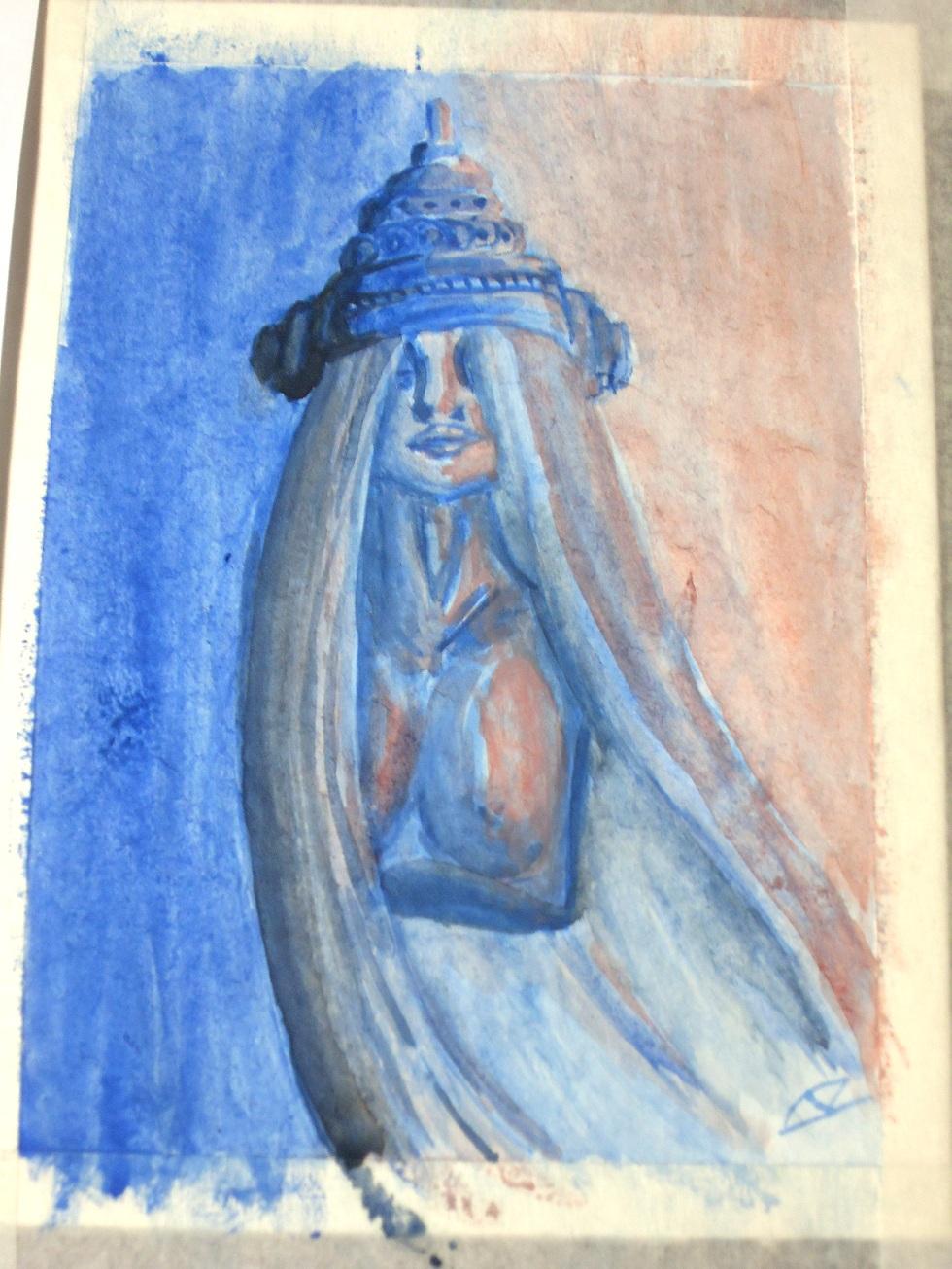 Primeira Aquarela em papel Montval by LucasCoppio