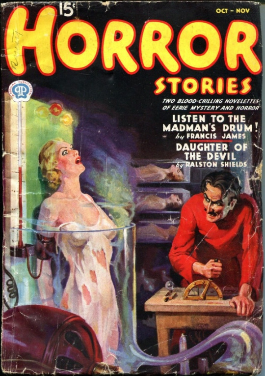 Horror Stories Oct.-Nov. 1937 by derrickthebarbaric on ...