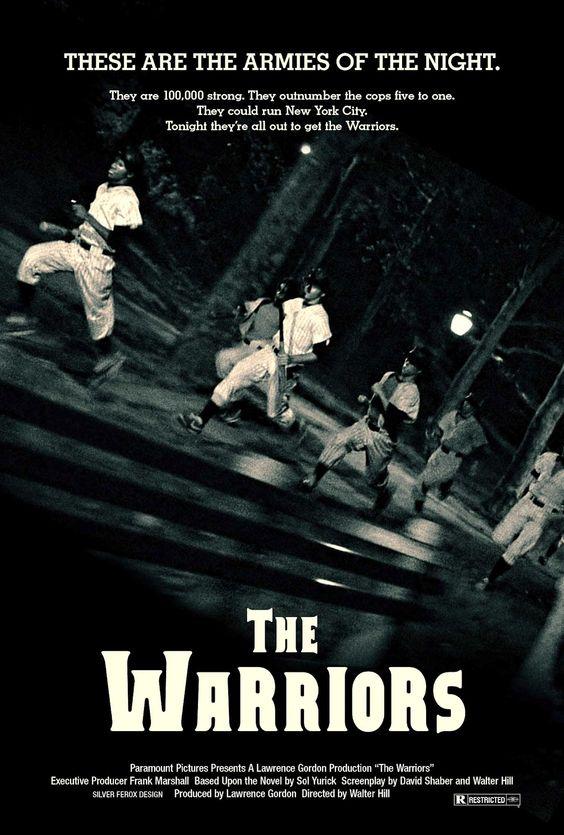 the warriors movie poster by derrickthebarbaric on deviantart