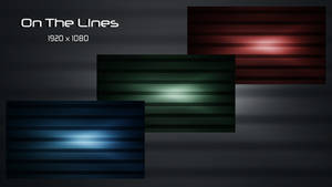 On The Lines - 3 Different Colors