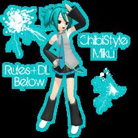 !MMD! ChibiStyle Miku (DL Below!) by InsaneChibi-MMD
