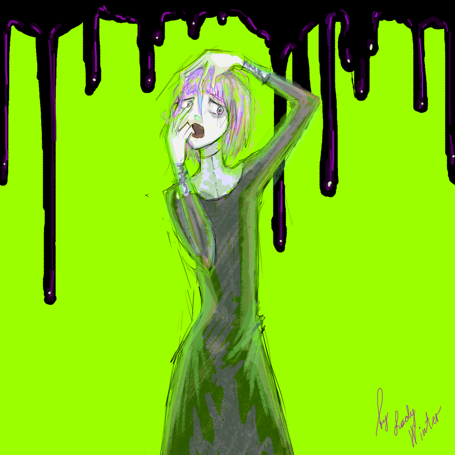 Soul Eater: Crona by LadyVVinter