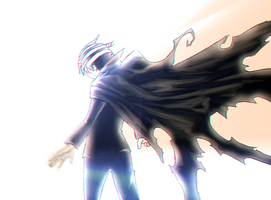 Soul Eater Manga Color: Death The Kid_Heir by LadyVVinter