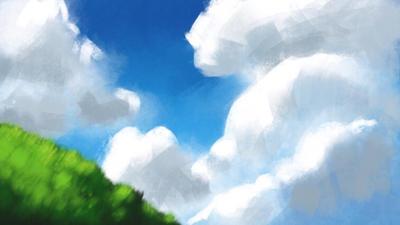 Cloud studies... by lukewisner