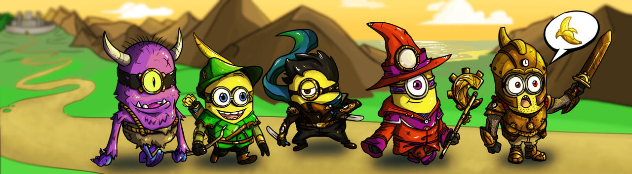 Minion Quest: Search For The Golden Banana