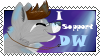 DW support stamp by dragonwolfgirl1234