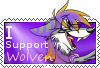 Wolven support stamp by dragonwolfgirl1234