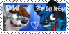 DW x Brighty Stamp by dragonwolfgirl1234