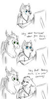 Just like her mother by tory-the-fuzzball