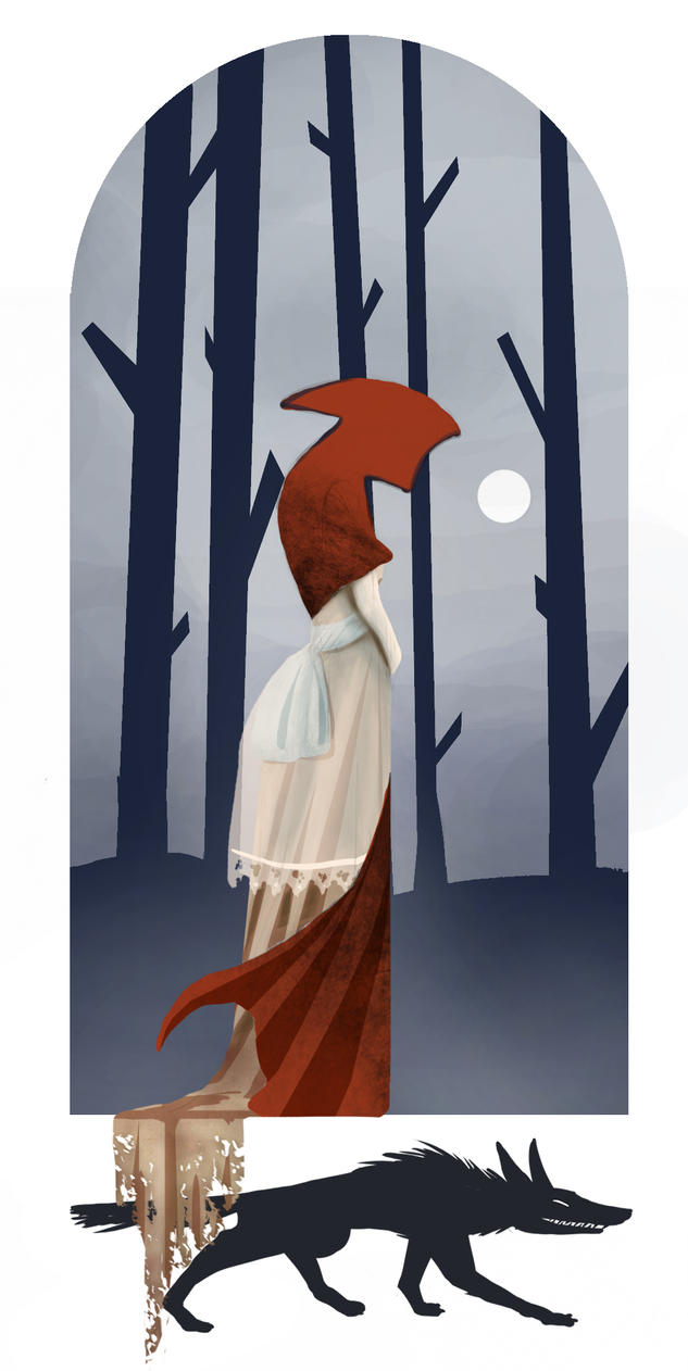 Red riding Hood by silviabrujas