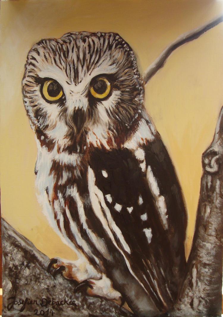 Owl by Jose-Fien