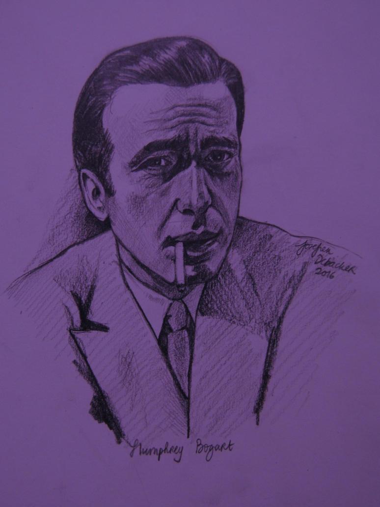 Humphrey Bogart by Jose-Fien