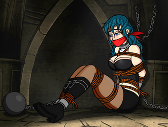 Byleth Bound and Gagged 1