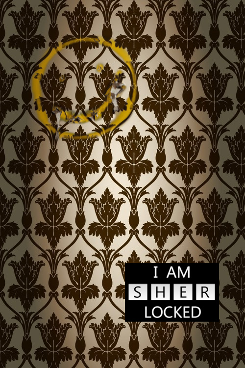 I Am Sher Locked Phone Wallpaper By Grayw00f On Deviantart