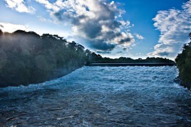 Waterfall After Hurricane by stupidiceblock