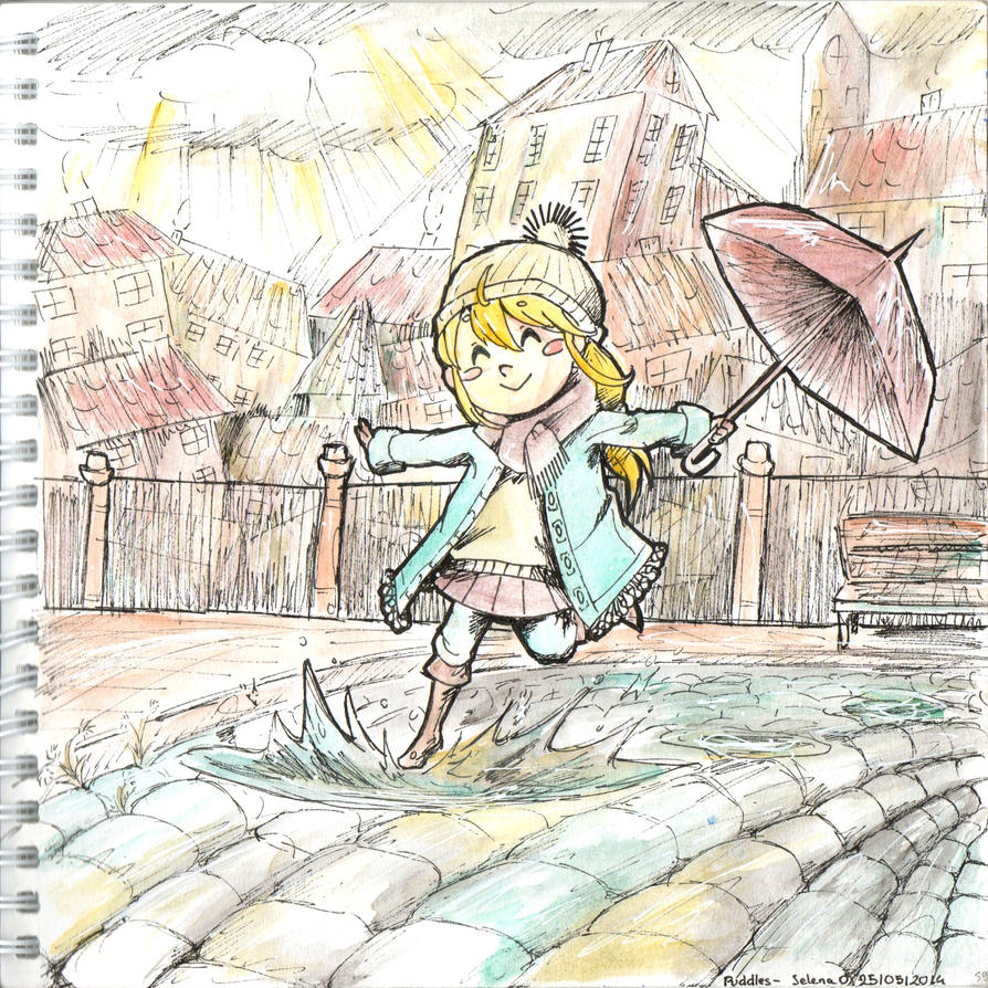 PUDDLES. by Missy-Lee-Art