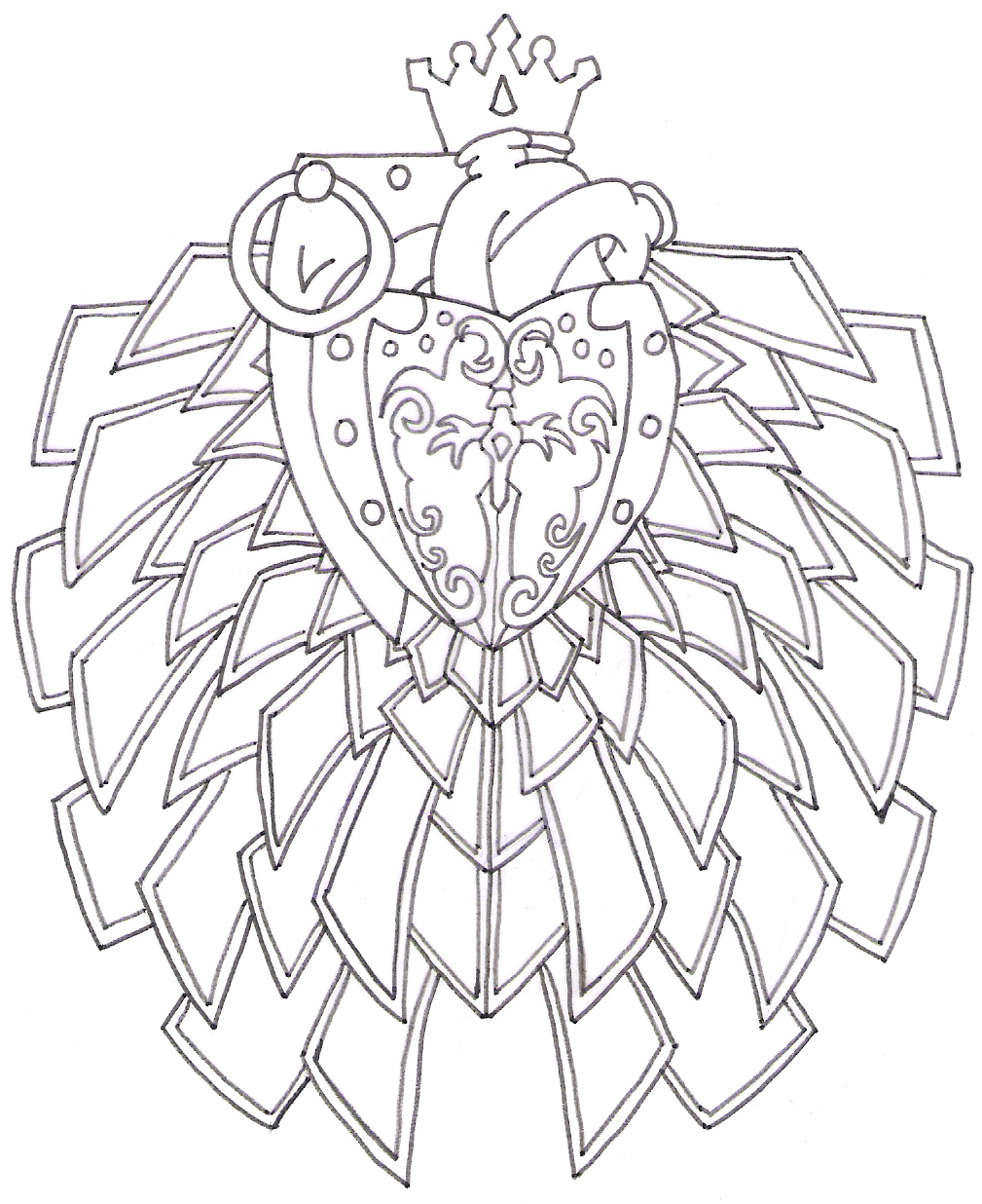 Coloring Sheets Flower Petals Coloring Pages
