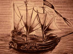 Pirate ship by MiltonCamargo64