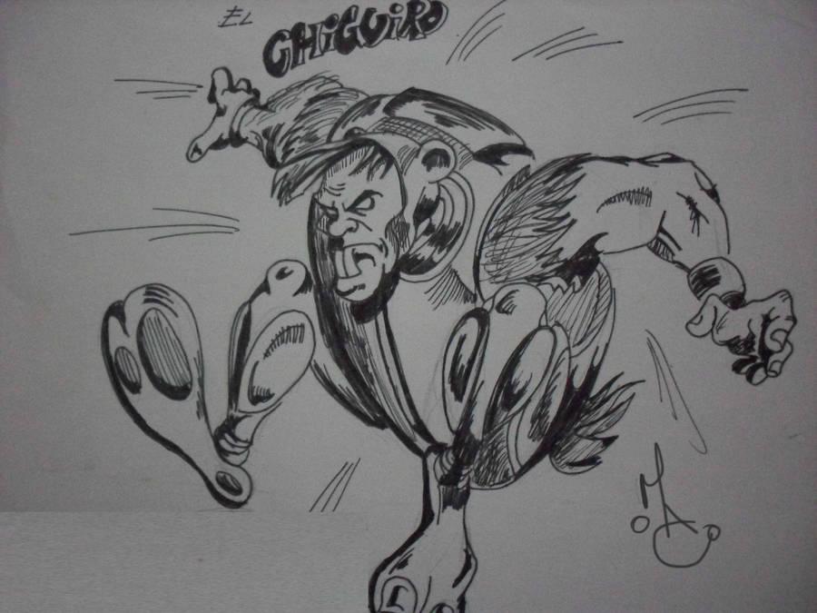 Chiguiro our Hero by MiltonCamargo64