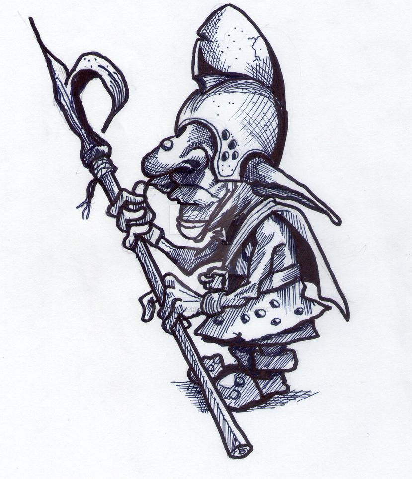 Goblin Warrior by MiltonCamargo64