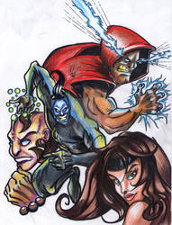 Comic Characters  Test