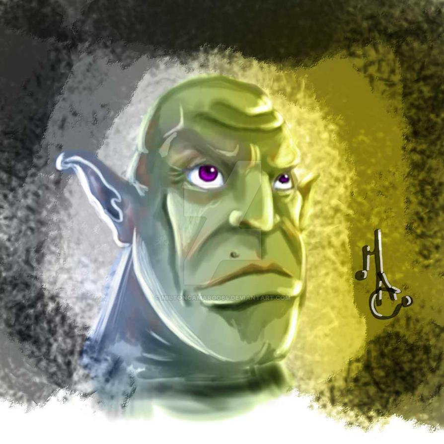 head Goblin by MiltonCamargo64