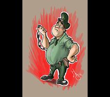 Cop Cartoon.