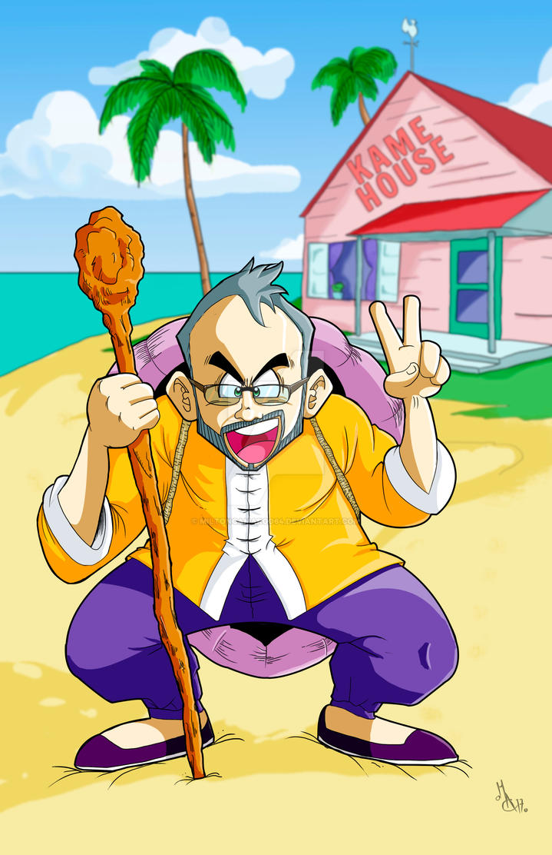 Dragon Ball Cartoon Style by MiltonCamargo64