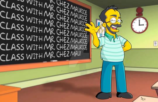 Cartoon Simpson Style
