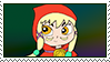 Mustache Girl Stamp by Meowstic-45