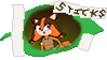 Sticks the Badger ''Stamp'' by Meowstic-45