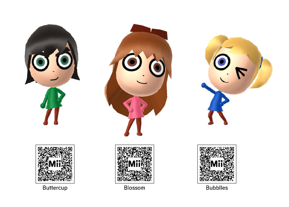 Anime Mii Characters 3ds : Ds mii qr codes anime pictures to pin on pinterest
