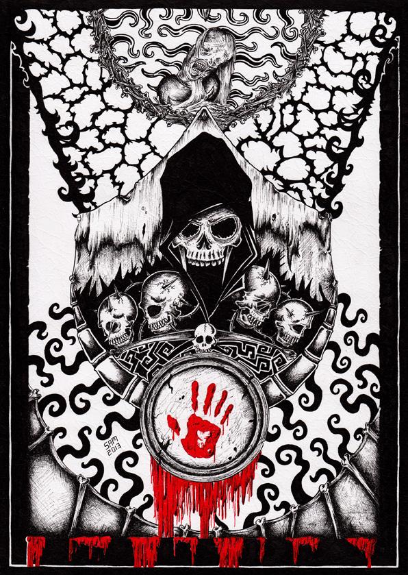 Skyrim: Dark Brotherhood by inkarts on DeviantArt