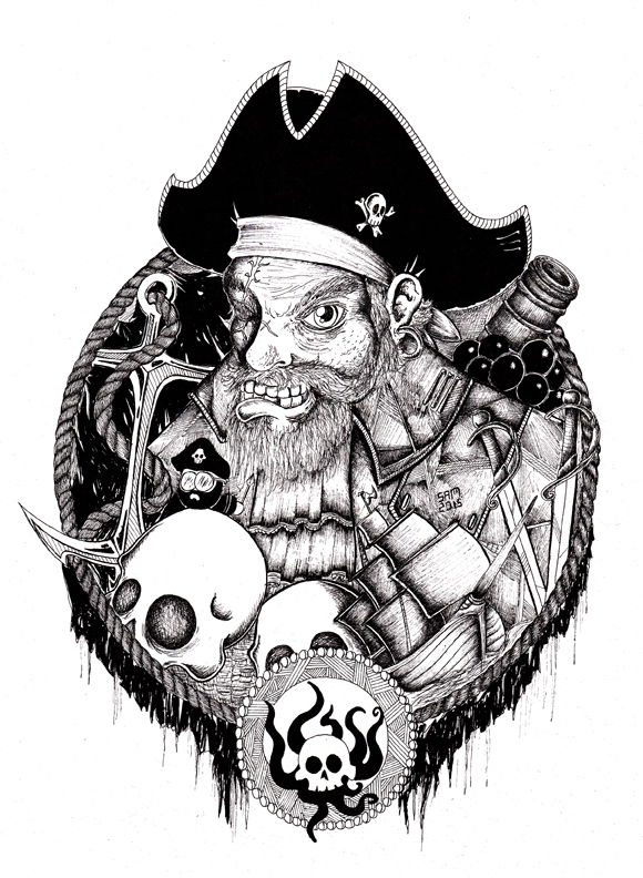 Pirate by inkarts