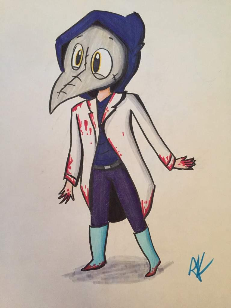 Dr. Crow by ICD-and-Specimen3xx