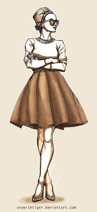 Skirt by snowishtiger