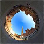 Inception of  Piazza del Campo