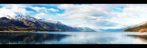 Lake Wakatipu, New Zealand.