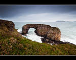 The Great Sea Arch at Pollaid, Fanad, Ireland.