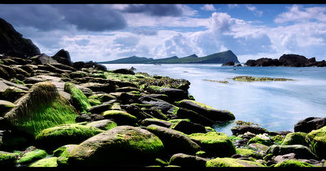 A view of the Three Sisters. Kerry, Ireland.