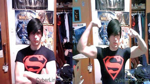 Flex it Superboy