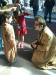 lil 10th doctor and big 10th doctor